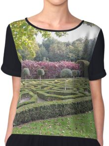 How Puzzling All These Changes Are Women's Chiffon Top