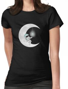 Time To Sleep Womens Fitted T-Shirt