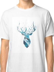 Stag Head Wall Mount Deer Wall Art Classic T-Shirt