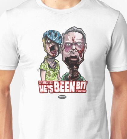 Zombie Bike Couple Unisex T-Shirt