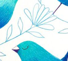 Bluebirds Sticker