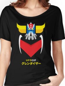 Grendizer - Color and japanese writing Women's Relaxed Fit T-Shirt