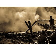 WW2 Shrapnel Photographic Print