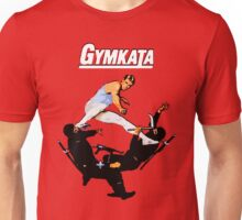 The skill of gymnastics, the kill of karate. Unisex T-Shirt