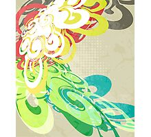 Abstract Modern Colorful Background Photographic Print