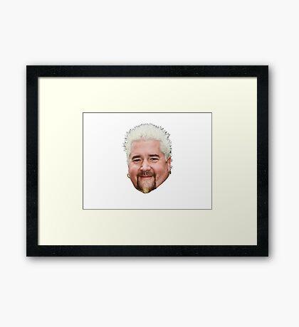 Guy Fieri Framed Print