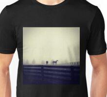 Horses in the Mist Unisex T-Shirt