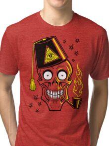 MR. BONES Tri-blend T-Shirt