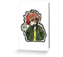 Bleh Greeting Card