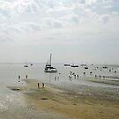 Low tide at Terschelling beach by Arie Koene