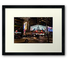 Private Transportation Framed Print