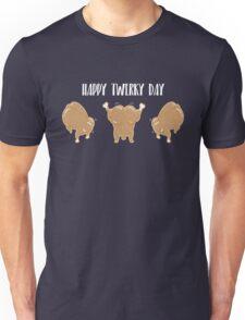 Twerky Day in Blue Unisex T-Shirt