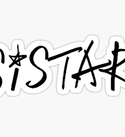 Sistar - Logo Sticker