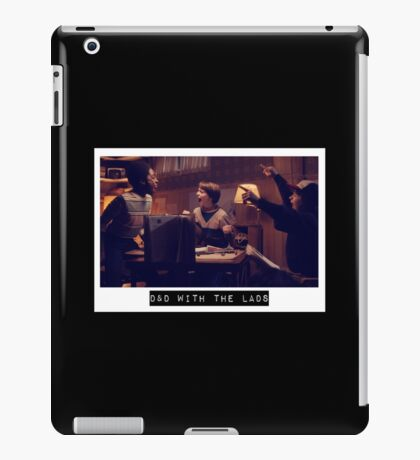 Stranger Things Dungeons and Dragons iPad Case/Skin