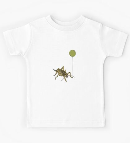 Kiwiautomaton - Wellington tree weta  Kids Tee