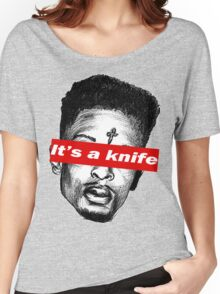 """21 Savage """"it's a knife"""" Supreme Women's Relaxed Fit T-Shirt"""