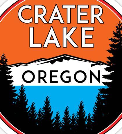 CRATER LAKE NATIONAL PARK OREGON MOUNTAINS HIKING CAMPING HIKE CAMP BOATING FISHING 2 Sticker