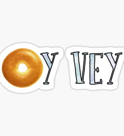Oy Vey Bagel Sticker
