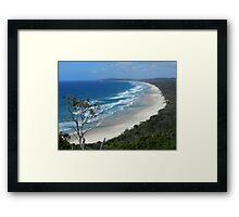 Byron Bay Coastline N.S.W.  Australia Framed Print