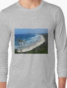 Byron Bay Coastline N.S.W.  Australia Long Sleeve T-Shirt