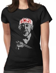 Only the Old One could teach him the secrets of the masters. Womens Fitted T-Shirt