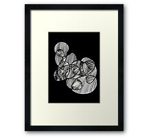Abstract Mother and Child  Framed Print