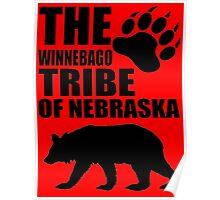 Winnebago Tribe of Nebraska Poster