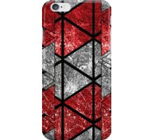 Red Triangle Stack iPhone Case/Skin