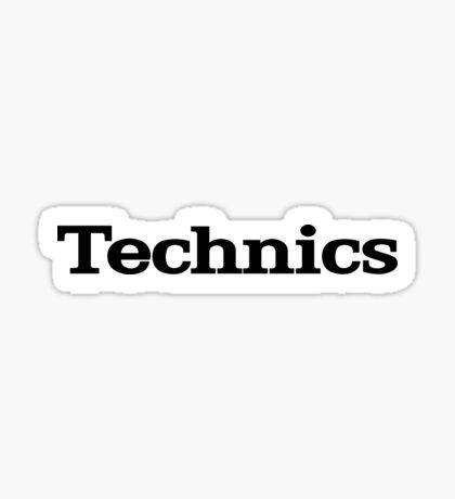 Technics logo Sticker