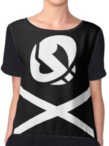 pokemon team skull and cross bones Chiffon Top