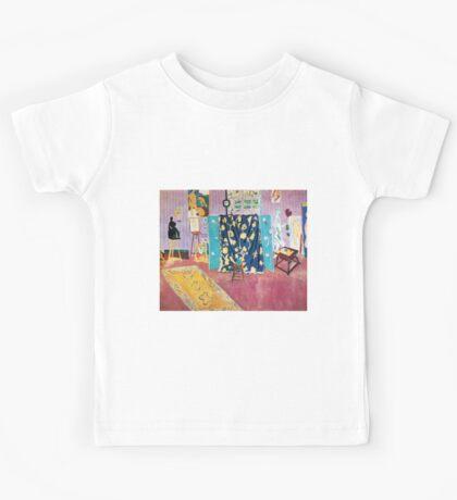 Henri Matisse - The Pink Studio Kids Tee