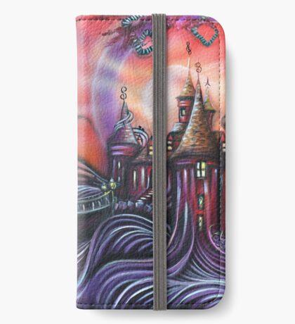 Castle Whimsyville Art Print iPhone Wallet/Case/Skin