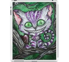 Sir Chester And His Dark Heart Cheshire Cat iPad Case/Skin