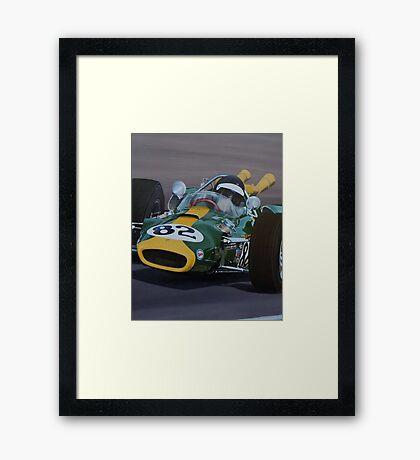 INDY JIMMY Framed Print