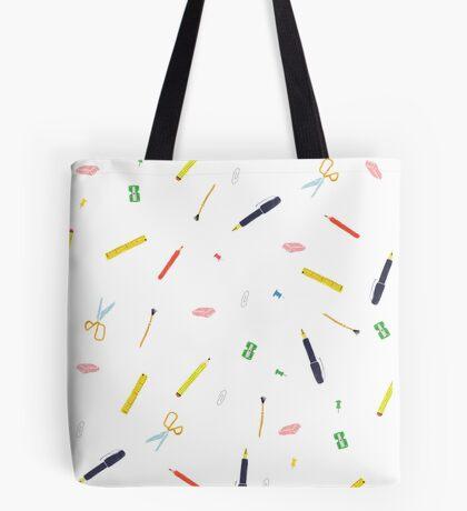 Stationery essentials Tote Bag