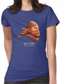 maelstrom Womens Fitted T-Shirt