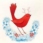 Antler bird by DebiHudson