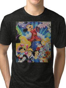 Walt Character Creation Tri-blend T-Shirt
