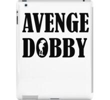 Avenge Dobby black iPad Case/Skin