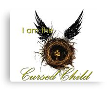 I Am The Cursed Child Canvas Print