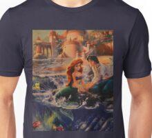 Mermaid Prince Dog Fish Crab Princess Prince Unisex T-Shirt