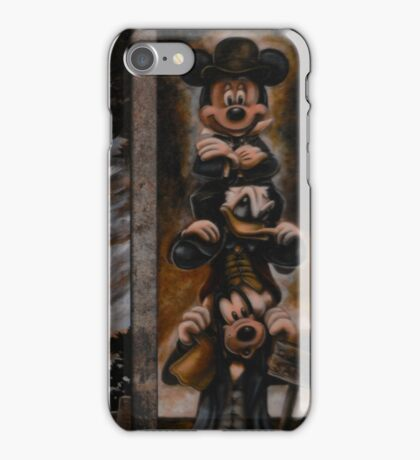 Stretching Portraits iPhone Case/Skin