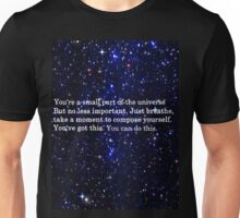 Starry Motivational Skies Unisex T-Shirt