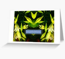 Graduation Trumpeting Greeting Card