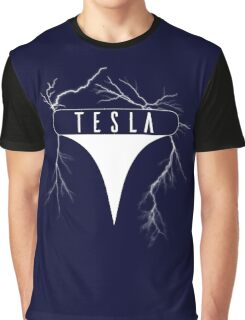 Tesla Coil - Logo Graphic T-Shirt