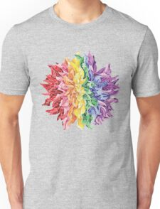 Rainbow Flower Unisex T-Shirt