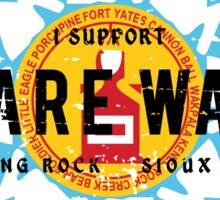 standing rock Sticker