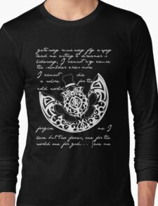 The poet and the pendulum Long Sleeve T-Shirt