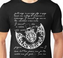 The poet and the pendulum Unisex T-Shirt