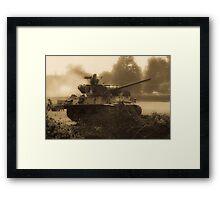 WW2 Tank Framed Print